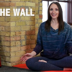 Legs Up the Wall Yoga Image with Lisa Diers